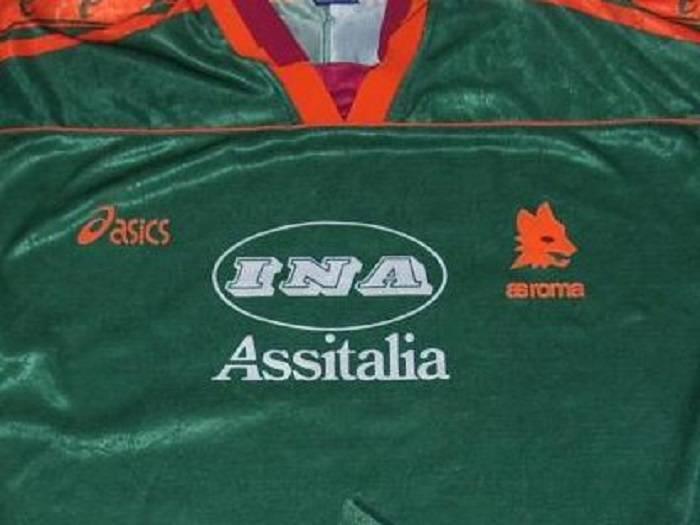 maglia roma Asics verde