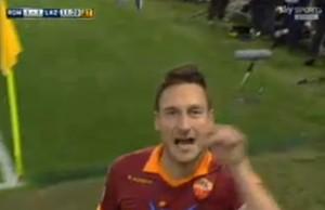 totti gol derby 2012