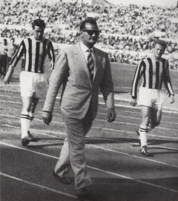 Guido Masetti allenatori tornati alla Roma