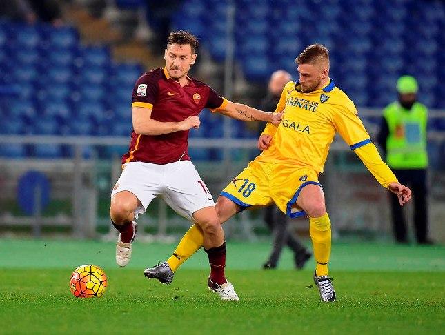 Totti presenze in Serie A