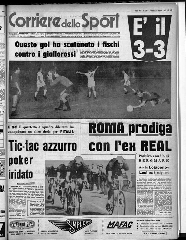 Roma-Real 3-3