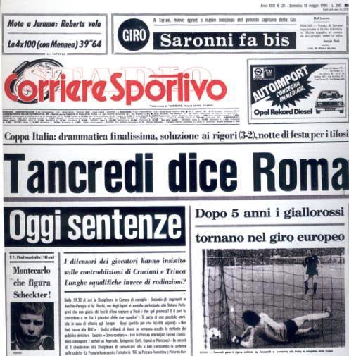 Tancredi Coppa Italia