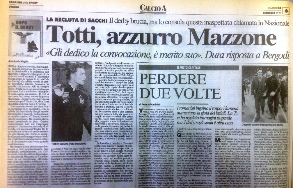 Totti nazionale