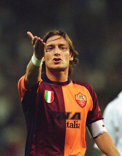 Totti a Madrid