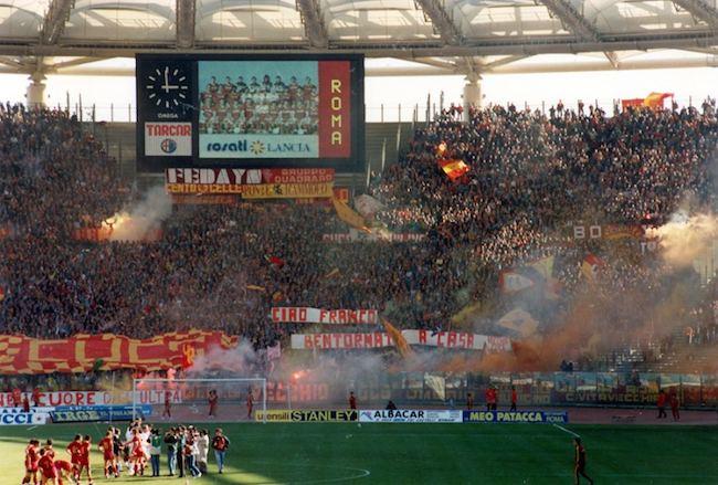 Franco Tancredi Curva Sud Roma-Torino