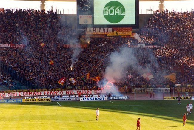 Tancredi Curva Sud Roma-Torino