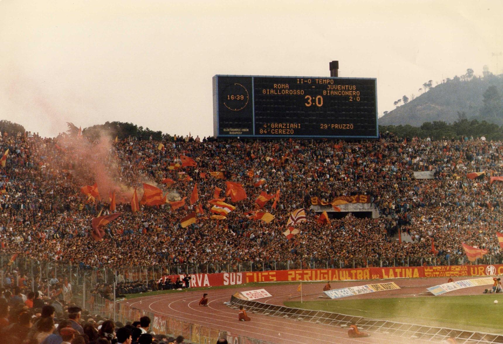 Roma Juve 1986