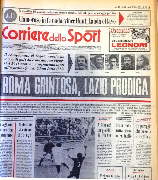 Corriere dello Sport 1976