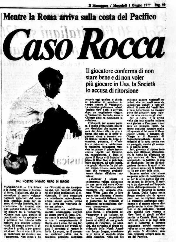 Rocca ginocchio 1977