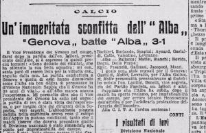 Alba-Genoa