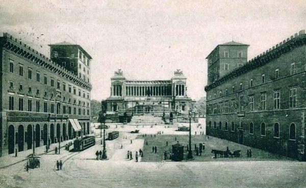 Piazza Venezia 1927