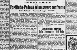 Fortitudo Padova 1926-27