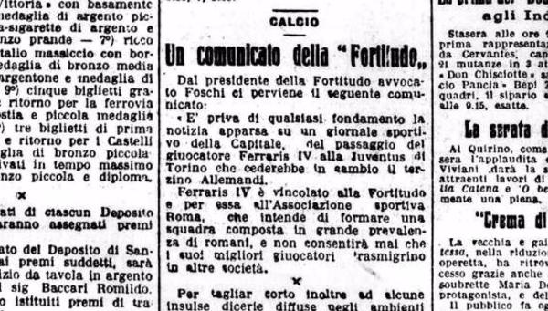 Ferraris Juventus