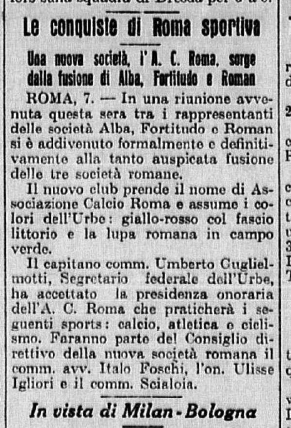 Fondazione AS Roma 1927