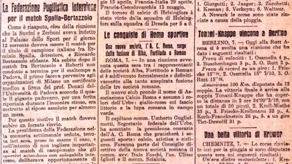 Giornali Fondazione AS Roma