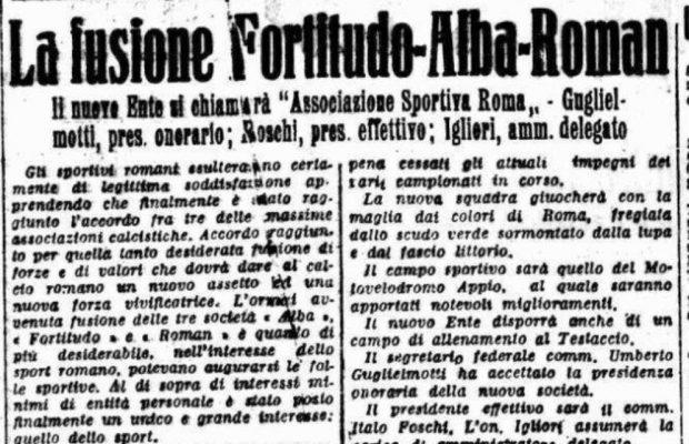 Fondazione Roma giornali