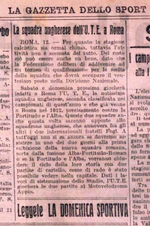 Gazzetta dello Sport 1927
