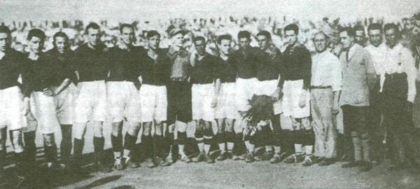 Prima partita AS Roma 1927