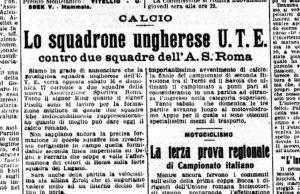 Roma Ute Budapest giornali