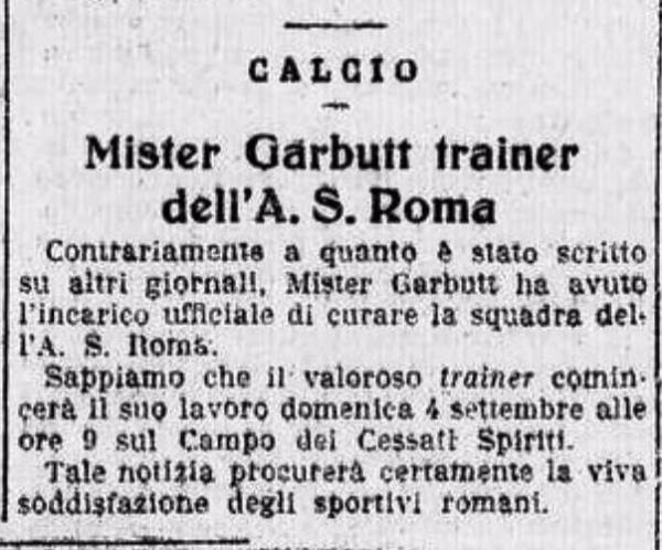 Garbutt Roma