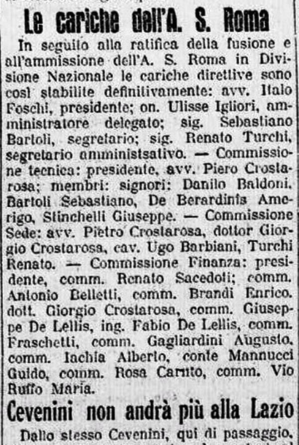 AS Roma 1927-28