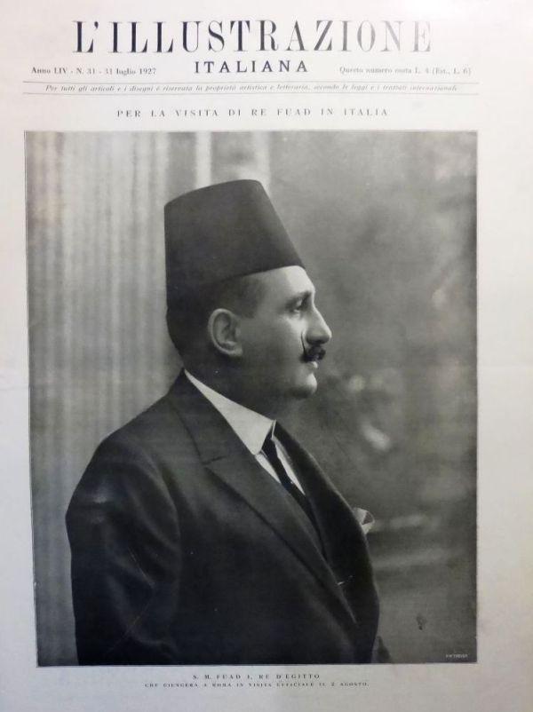Re Fuad I d'Egitto
