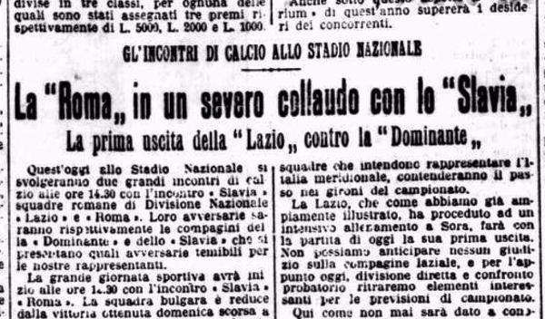 Roma-Slavia Sofia 1927