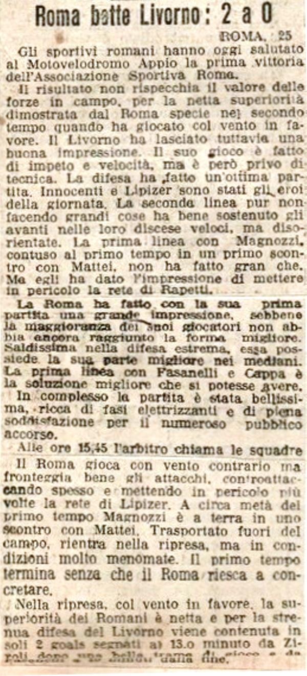 Corriere dello Sport 1927