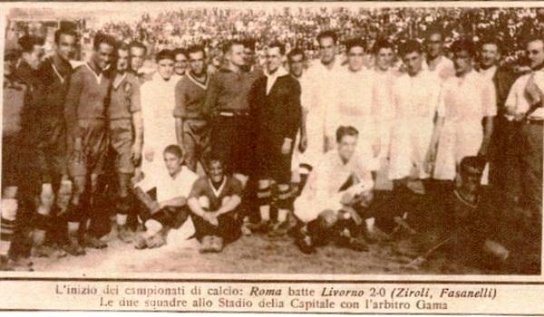 Roma Livorno 1927-28