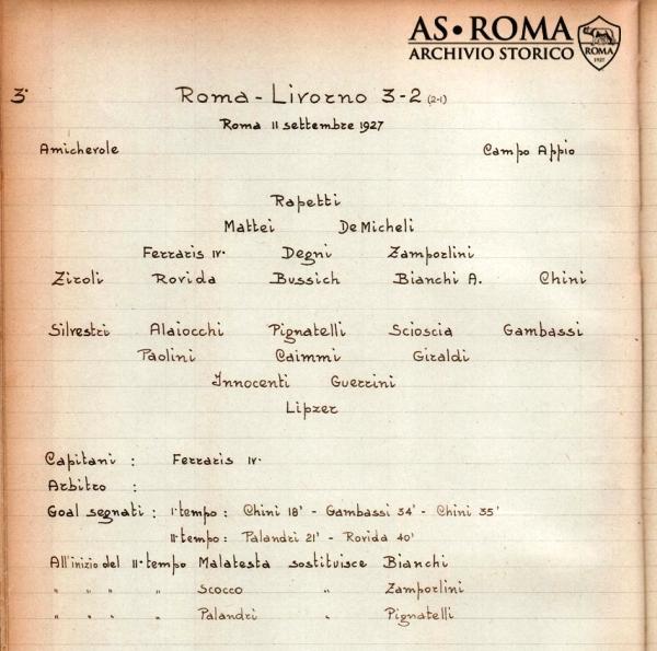 Roma Livorno 1927