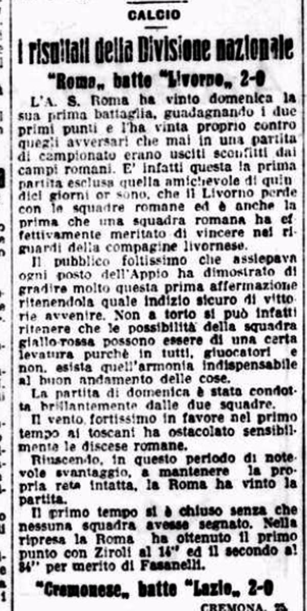 Il Messaggero 1927