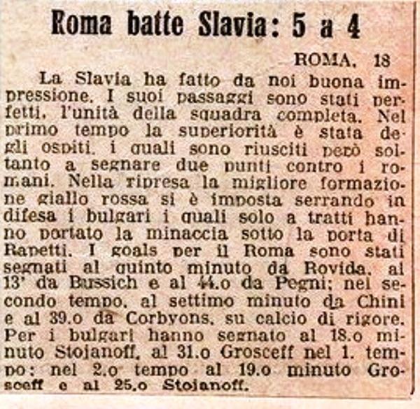 Roma Slavia 1927