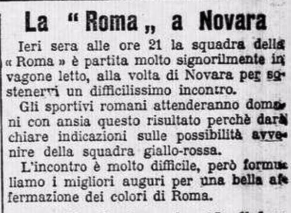 Roma Novara treno