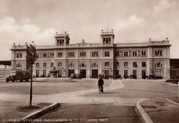 Stazione Forlì 1927