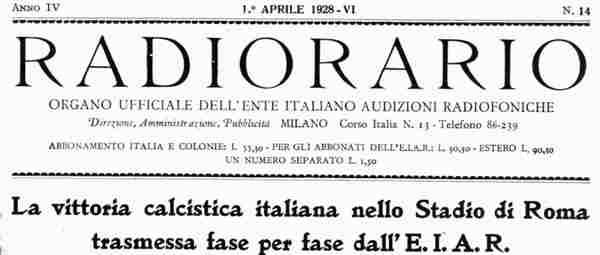 Prima Radiocronaca Italia
