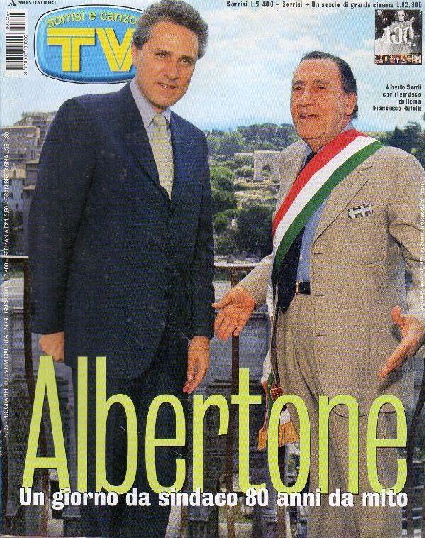Sordi sindaco di Roma