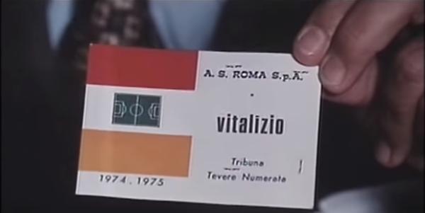 Alberto Sordi tessera Roma