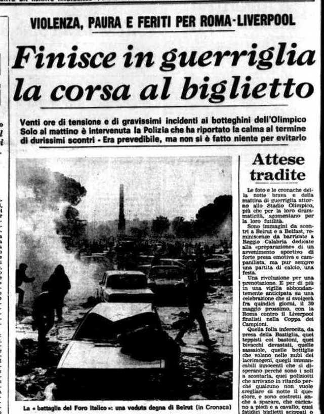 Roma Liverpool 1984