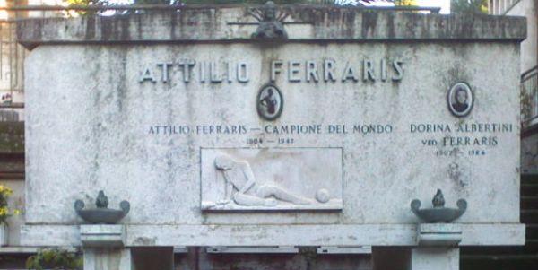 Attilio Ferraris moglie