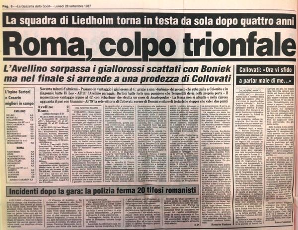Avellino-Roma