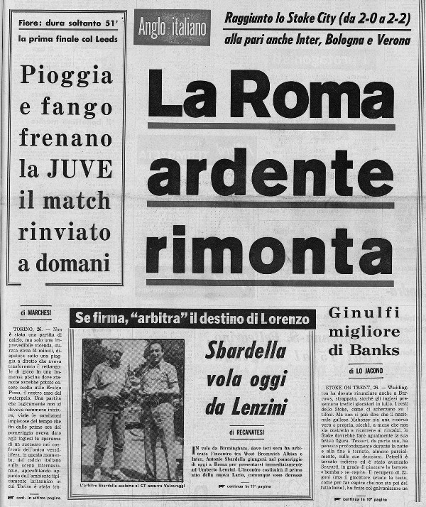 Roma - Stoke City