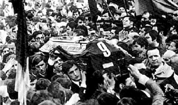 Giuliano Taccola funerale