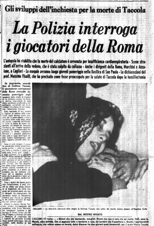 Giuliano Taccola moglie