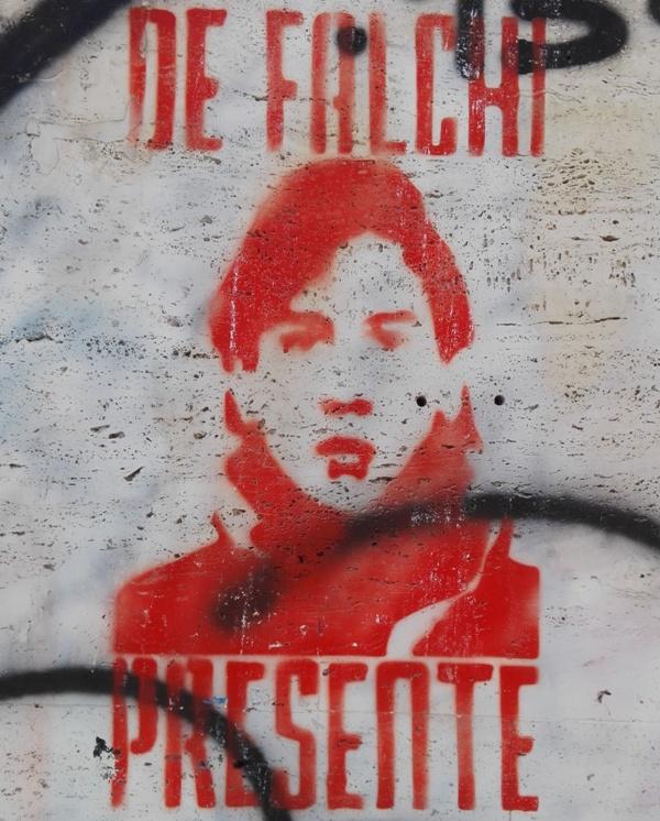 De Falchi tifoso roma